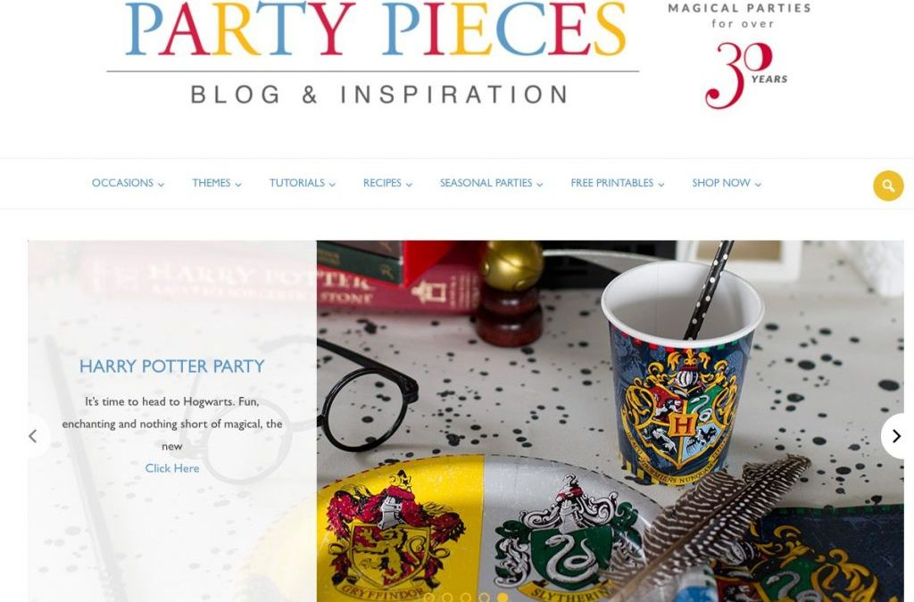 Good Press – Harry Potter on Party Pieces